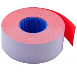 Ценник прямоугольный 26*16 мм, красный, внутренняя намотка, 1000 шт/16 метров, Buromax, 28110305