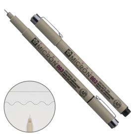 Лінер чорний Sakura PIGMA Micron 0,15 мм XSDK003#49, 307247