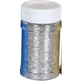 Блискітки сухі срібні 125 грам Pasco, 722459