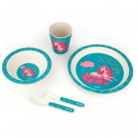 Набір посуду з бамбука у коробці Kite Lovely Sophie 5 предметів K20-313-1, 43496