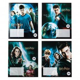 Зошит шкільний А5 Kite Harry Potter 18 аркушів лінія HP20-237-1, 44853