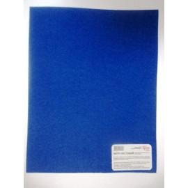 Фетр листковий (поліестер) 21,5х28 см ультрамарин 180 г/м2 Rosa Talent, 953626