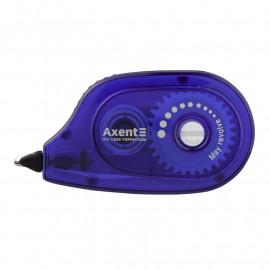 Стрічка коригуюча Axent 5 мм х 6 метрів синій корпус 7009-02-A, 37222