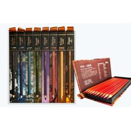 Олівці кольорові Marco Tribute 80 кольорів кедр 3300-80CB, 915855