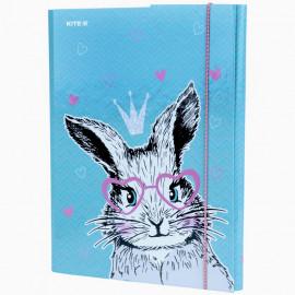 Папка А4 для трудового навчання Kite Cute Bunny K21-213-1, 47967