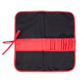Пенал для пензлів 37х37 см чорний/червоний Rosa Studio, 231102