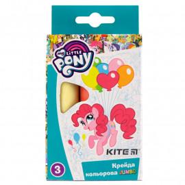 Крейда кольорова Jumbo Kite My Little Pony 3 кольори LP19-077, 40277