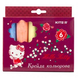 Крейда кольорова Jumbo Kite Hello Kitty 6 кольорів HK19-073, 40283