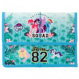 Папка для зошитів B5 Kite My Little Pony на гумці LP19-023, 40909