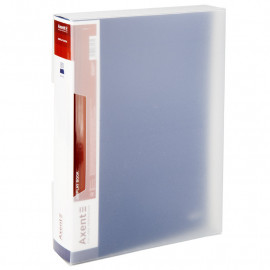 Папка пластикова А4 80 файлів в чохлі синя Axent, 1280-02-А, 37049