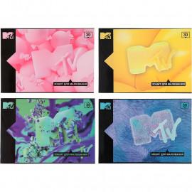 Зошит-планшет А4 для малювання 30 аркушів Kite MTV MTV20-246, 45243