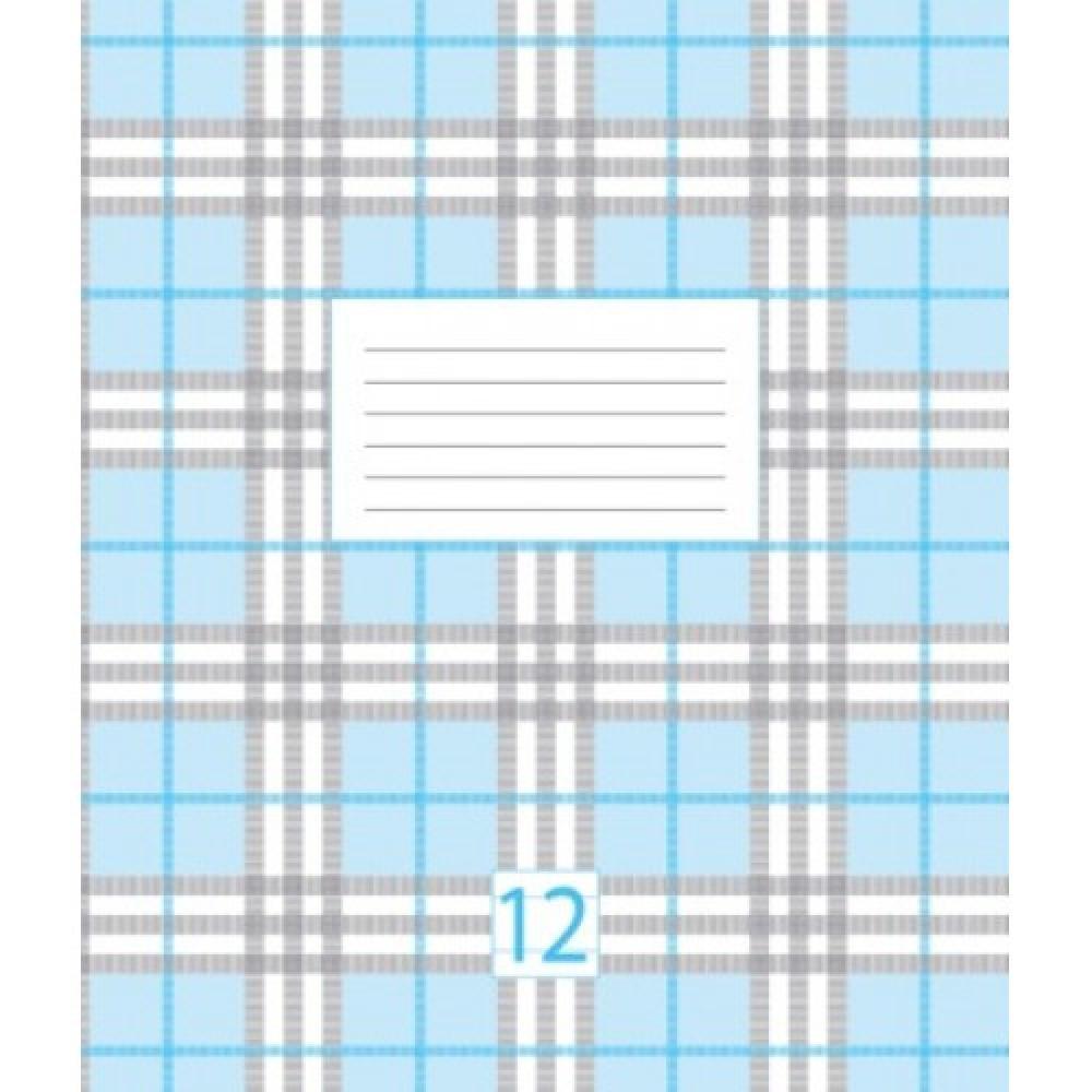 Зошит шкільний 12 аркушів лінія Графіка 5В212Л, 4001942