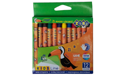 Пастель воскові олівці