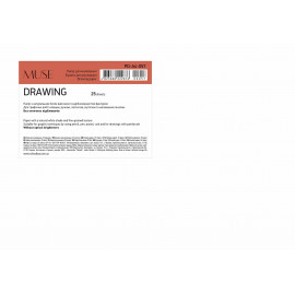 Папір для малювання А4 25 аркушів 150 г/м2 Muse Школярик, 222876