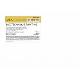 Папір Mix Technique для різних технік малювання А4 10 аркушів 240 г/м2 Muse Школярик, 222814
