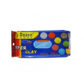 Глина для моделювання DOZEN блакитна 250 грам PCL250, 842507