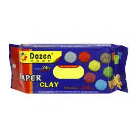 Глина для моделювання DOZEN жовта 250 грам PCL250, 9060458