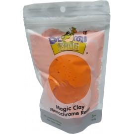 Пластилін повітряний моделін помаранчевий 100 грам Pasco Domi frog Magic Cllay MC-011, 9060342