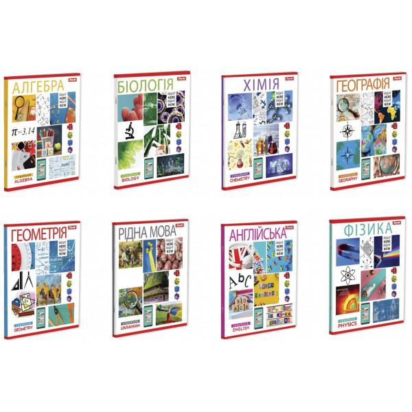 Набір предметних зошитів на 8 предметів 1Вересня, 764066