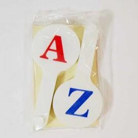 Веер букв английский алфавит Атлас, К-7372, 900052
