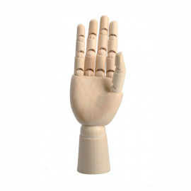 Манекен кисть правої руки дерево висота 30,48 см D.K.ArtCraft, 94160473