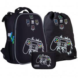 Рюкзак з наповненням пенал сумка для взуття Kite Gamer SET_K21-531M-2, 48346