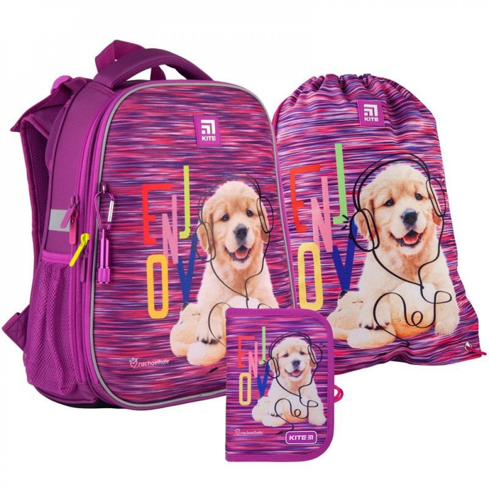 Рюкзак з наповненням пенал сумка для взуття Kite Rachael Hale SET_R21-531M, 48344