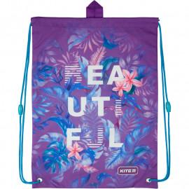 Сумка для взуття Kite Education Beautiful tropics K20-600M-15, 44879