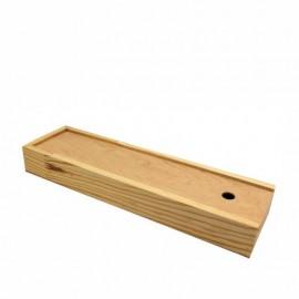 Пенал для пензлів Rosa Studio дерев\'яний 38х4,9х3,2 см ПК6, 94160441