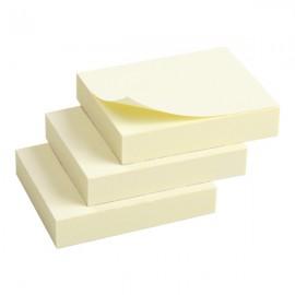 Блок бумаги с клейким слоем, 50*40 мм, 3 блока по 100 листов, Axent, 2311-01-A, 07914
