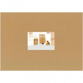 Крафт папір А4 21x29,7 см 230 г/м2 Folia, 692498