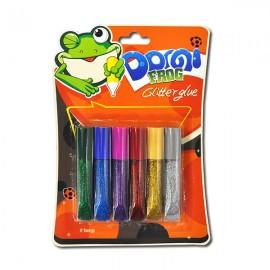 Клей-фарби з блискітками 6 кольорів по 6 мл Pasco GG-001-1, 304502
