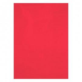 Обложка пластиковая А4, прозрачная, красная, 180 мкм, Axent, 2710-06-A, 36847