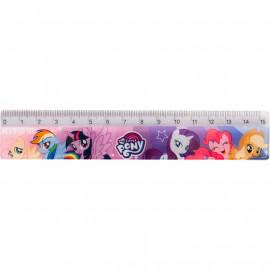 Лінійка пластикова Kite My Little Pony 15 см LP19-090, 40608