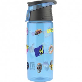 Пляшечка для води Kite MTV 550 мл блакитна MTV20-401, 44141