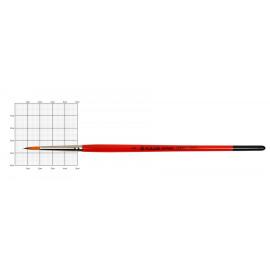 Кисть синтетика круглая № 2 Kolos Carrot 1097R, 901627