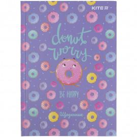 Щоденник шкільний тверда обкладинка Kite Donut K21-262-9, 48444