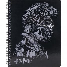 Коледж-блок А5 80 аркушів клітинка Kite Harry Potter HP20-248-2, 45075