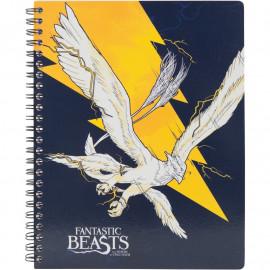 Коледж-блок А5 80 аркушів клітинка Kite Harry Potter HP20-248-4, 45077