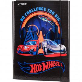 Папка А4 для трудового навчання Kite Hot Wheels HW19-213, 40921