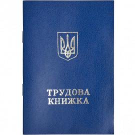 Трудова книжка синя з голограмою Держзнак Україна, 9060601
