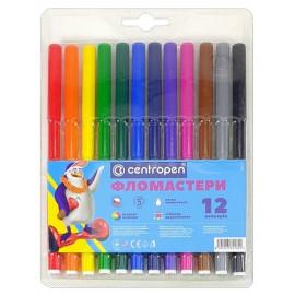 Фломастери 12 кольорів Centropen 7790-12, 540011