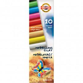 Пластилін Koh-i-noor Метелик 10 кольорів 200 грам, 20663