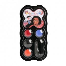 Набір для гриму Ніндзя в палітрі 4 кольори по 3 мл GRIM TOUT, 41961
