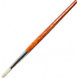 Пензель щетина кругла № 4 подовжена ручка Grace 2023R Kolos, 422023004