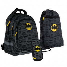 Рюкзак з наповненням пенал сумка для взуття Kite DC comics SET_DC21-700М-1, 48373