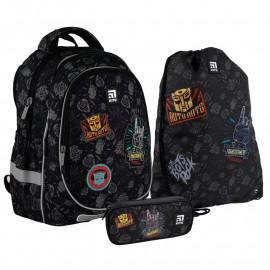 Рюкзак з наповненням пенал сумка для взуття Kite Transformers SET_TF21-700М, 48375