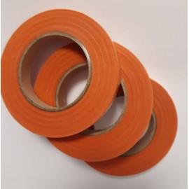 Тейп-лента 12 мм, оранжевая, 23 метра, 558445