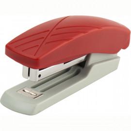 Степлер канцелярський 10 аркушів сірий / червоний скоба № 10 Duoton Axent, 4710-06-A, 07852