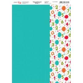 Бумага для дизайна Birthday 250 г/м2 Rosa Talent, 5311088